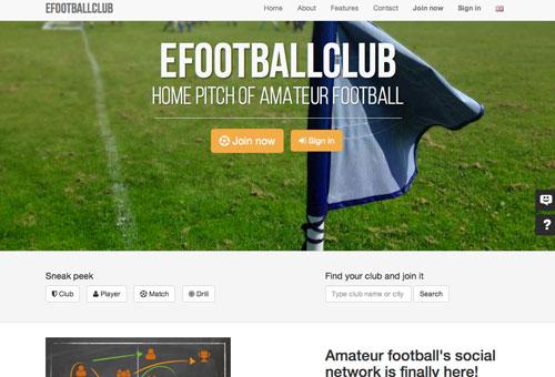efootballclub - réseau social et gestion des clubs de foot